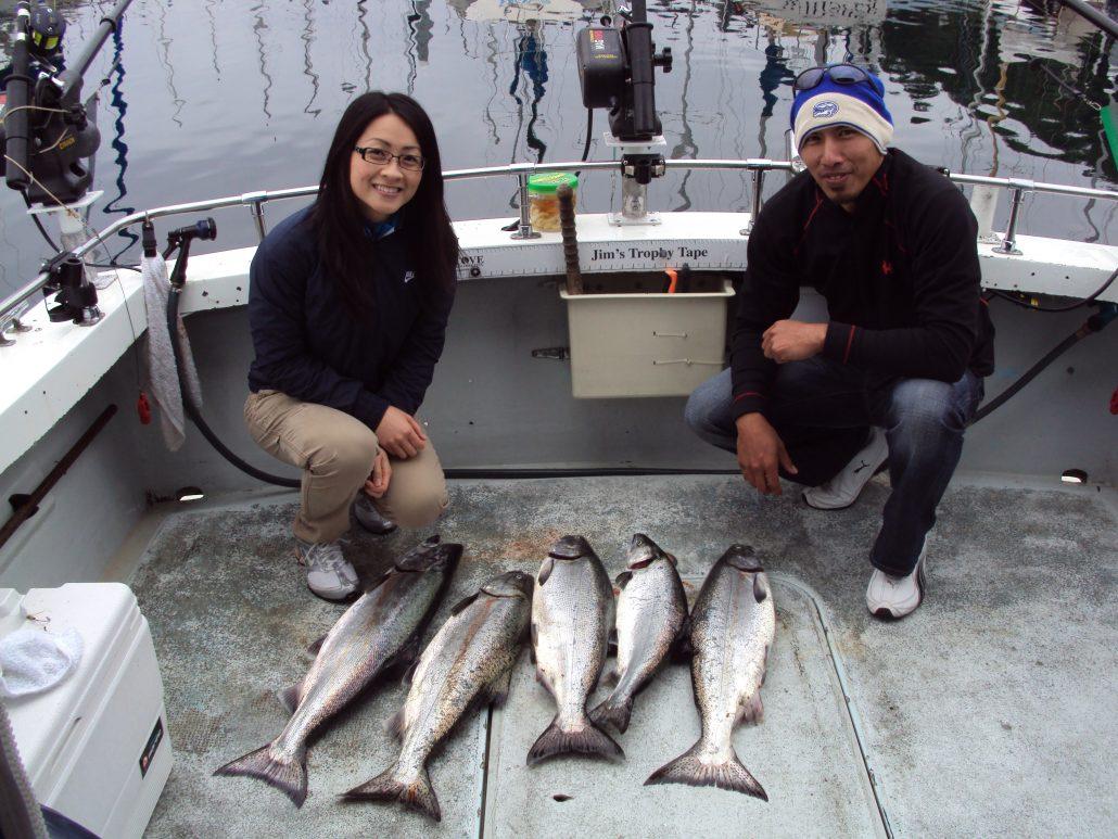 Seattle Fishing King Salmon 4