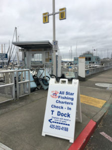 Seattl Fishing check in
